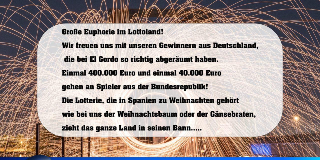 El Gordo Lose Deutschland Kaufen